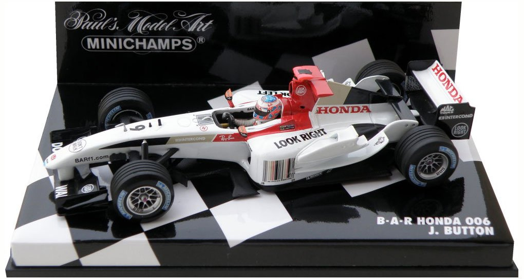 Minichamps F1 1/43 Scale - 400040009 BAR HONDA 006 J.BUTTON