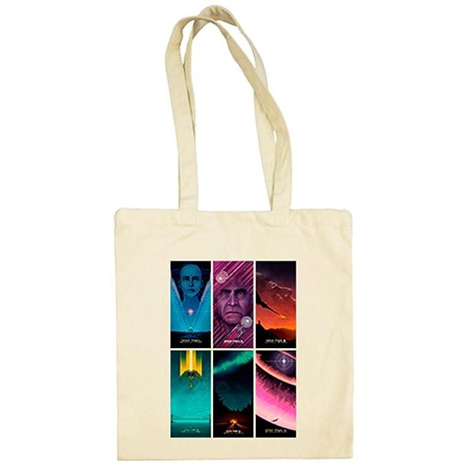 Bolsa de tela Star Trek con pósters ilustrados de las ...
