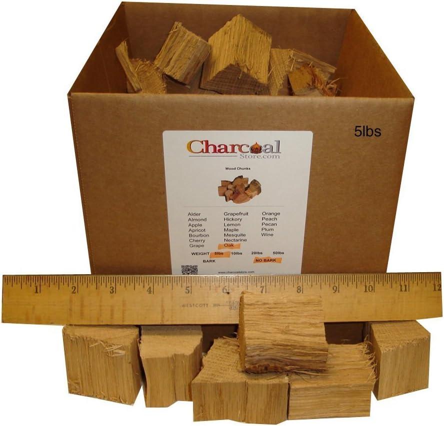 Bark 10 Pounds CharcoalStore Olive Wood Smoking Chunks