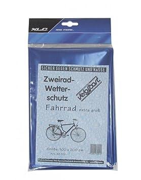 Veloflex Muñeco de Bruck 2520105090 Bicicleta Plegable Garage, Azul, 200 x 110 x 110