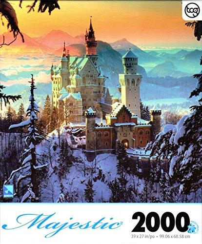 wanstein Castle By Hans Peter Huber 2000 Piece Puzzle (Peters Castle)