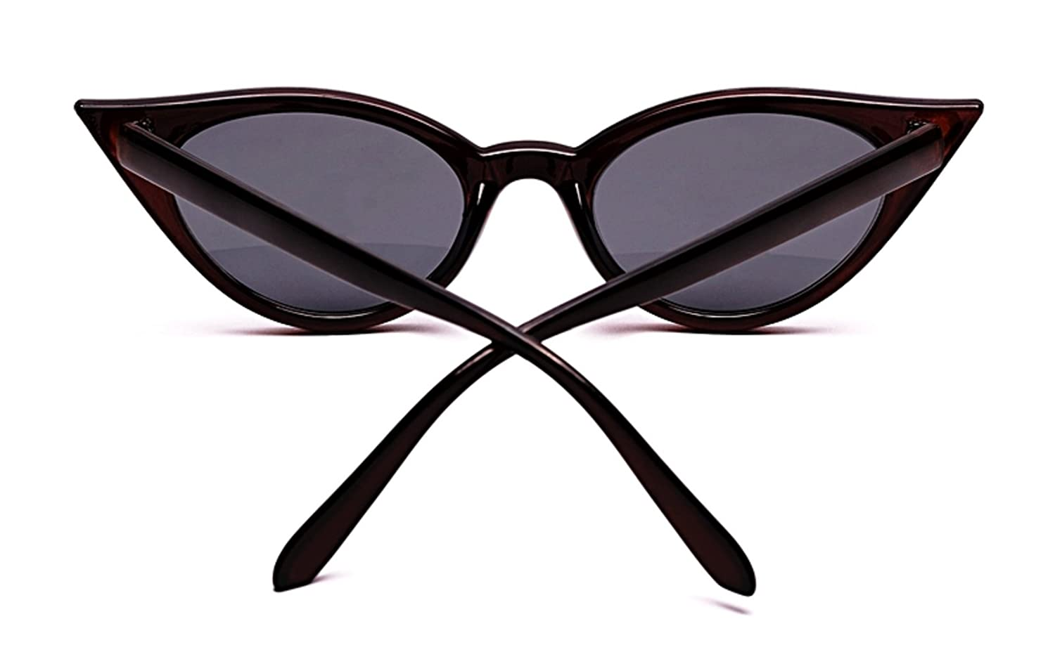 SG58 Retro 1950s 1960s Cat Eye Metal Hinged Vintage Fashion Stylish Sunglasses 100/% UV Protection