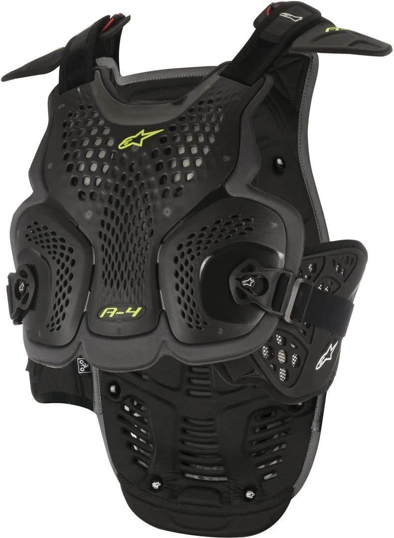Alpinestars MX Sequence Soft-Shell Chest Protector Roost Guard Black//Red