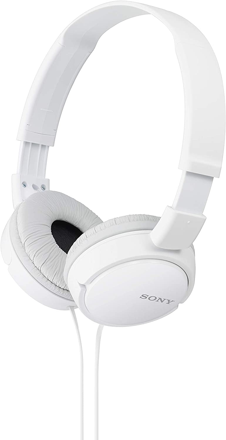 Sony ZX Series Wired On-Ear Headphones for the studio look this white colour headphone this is the one of the best headphones for the druman nd bss if you are playing a drumannad bass so this one is the best headphone