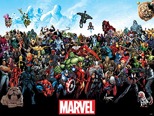 Trends International Mounted Print Marvel The Lineup, 18
