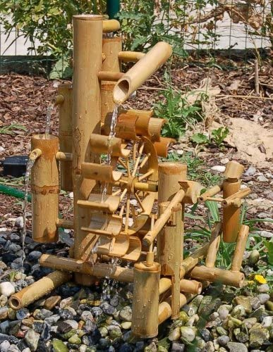 waterfall imported from Thailand water game 12039 Bamboo fountain