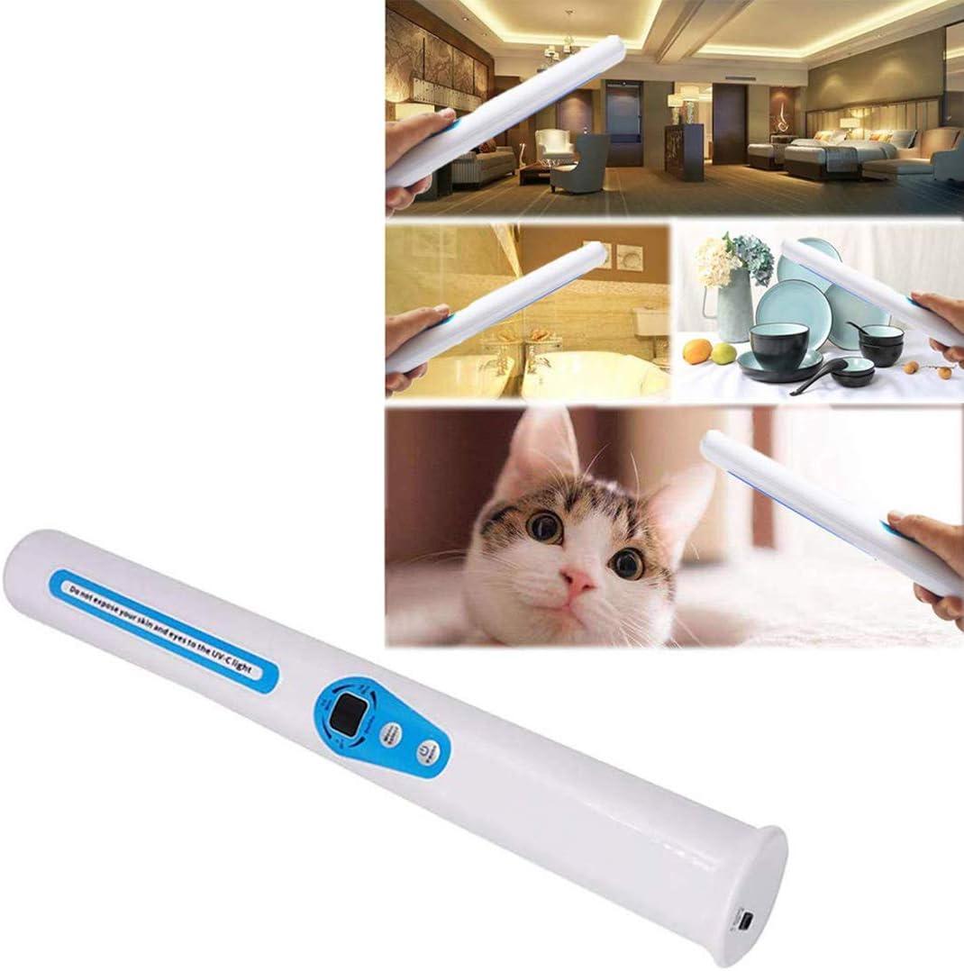 UV-C Professionnel Baguette Sanitizer Baguette Voyage UV Baguette /à la Main lumi/ère UV GXLO Soins /à Domicile Lampe de Poche D/ésinfection Portable