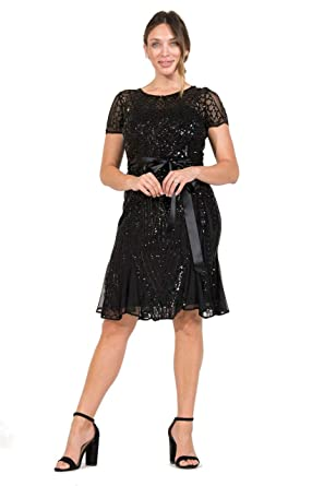 4ee1b1e4769 R M Richards Short Mother of Bride Forma Cocktail Dress at Amazon Women s  Clothing store