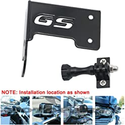 Motoparty Motorcycle Front Left/Rear Right Camera Action cam Bracket Stand For BMW R1200 GS