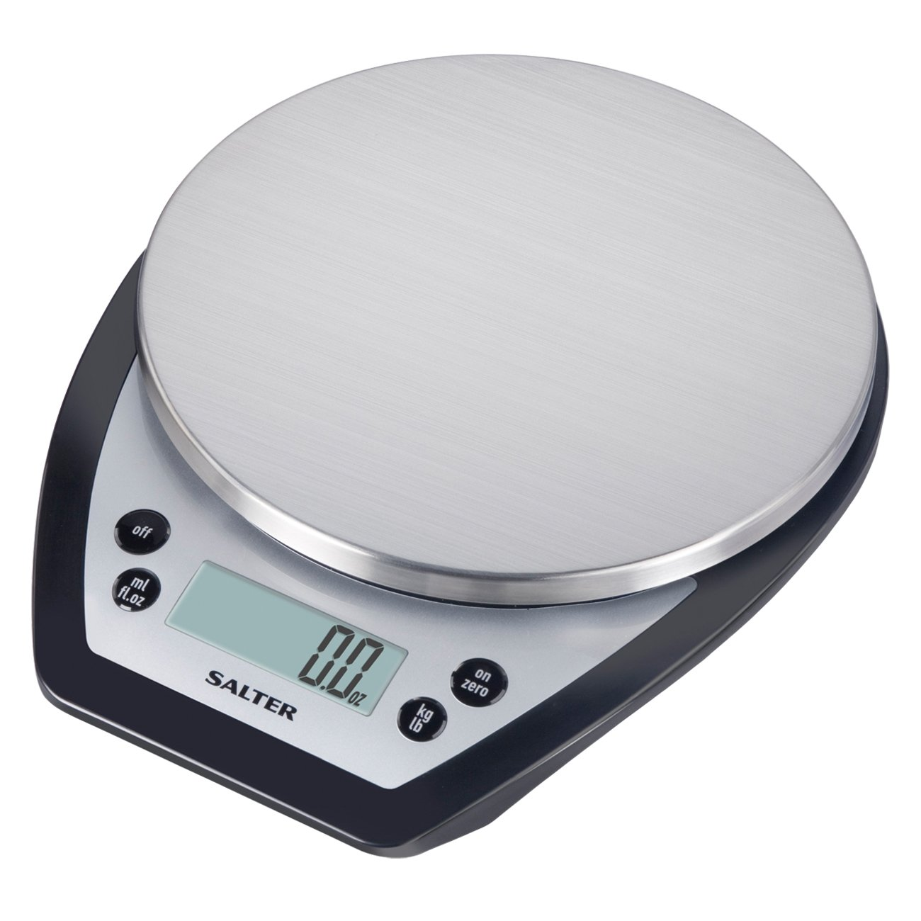 Amazon.com: Salter Aquatronic Digital Kitchen Scale (Silver And Black):  Digital Kitchen Scales: Kitchen U0026 Dining