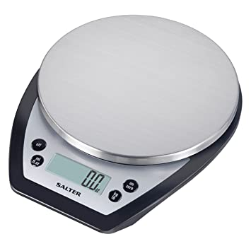 amazon com salter aquatronic digital kitchen scale silver and rh amazon com