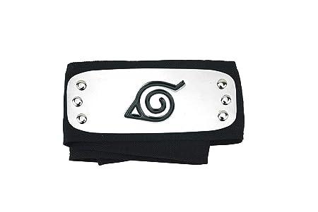 Cinta para cabeza de Naruto, anime, color negro, de Naruto
