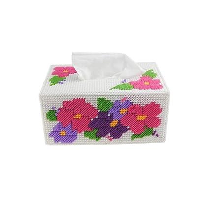 Jiaa Productos de decoración para el hogar con Aspecto Moderno y Elegante Diseño de Punto de Cruz ...
