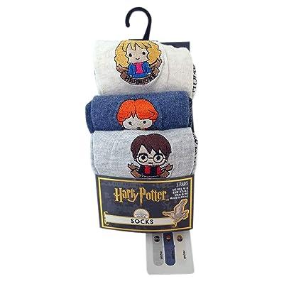 3 pares de calcetines de Harry Potter Harmione para mujer (talla 4-8) Primark: Ropa y accesorios