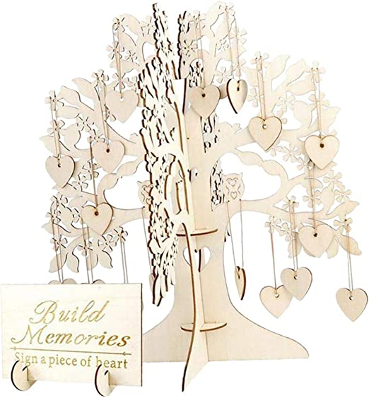 Árbol de los Deseos Comunion Invitados Alternativo de Boda para ...