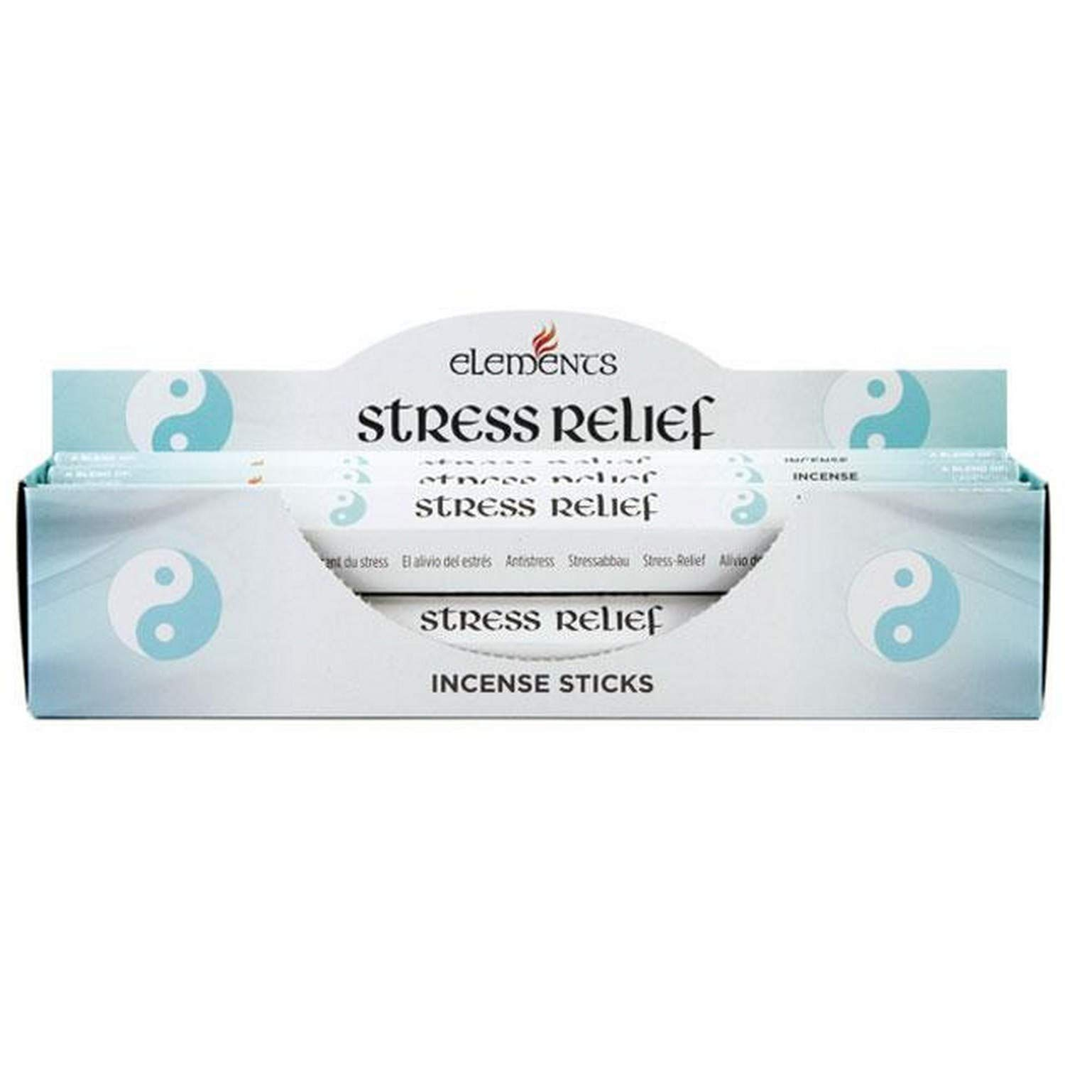 Something Different Elements Stress Relief Incense Stick (Pack Of 6) (One Size) (Multicolour) UTSD2059_1