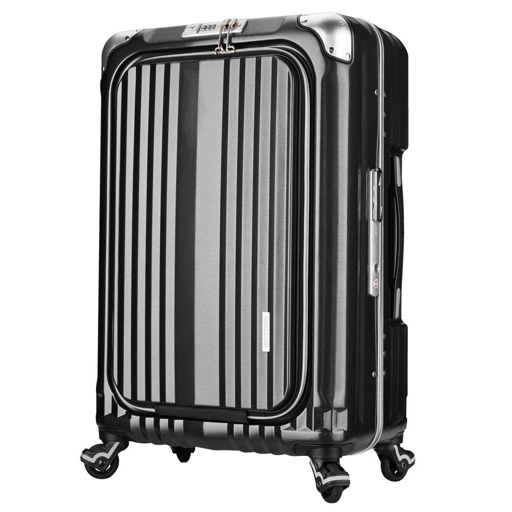 スーツケース | LEGEND WALKER (レジェンドウォーカー) 6603-58 フレーム (ブラック) B01BV6P0DI