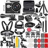Neewer G0 HD 4K Action Camera 12MP, 98 ft Underwater Waterproof Camera: 170 - Best Reviews Guide