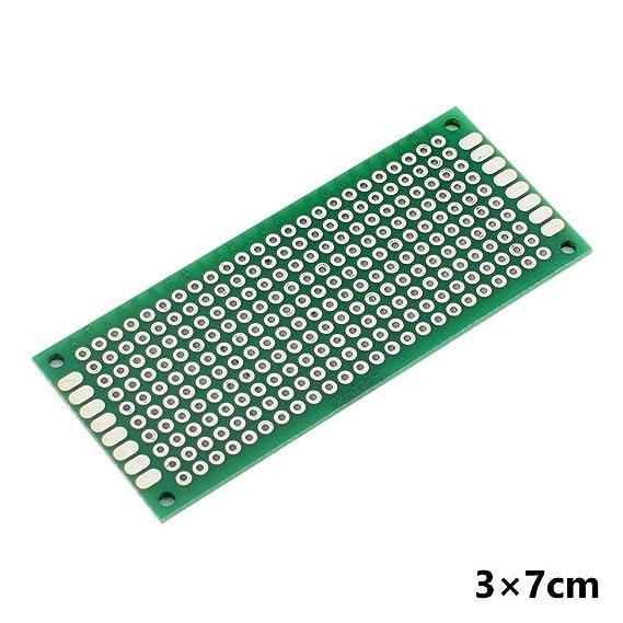 10PCS Double Side Prototype PCB Bread board Tinned Universal FR4 2x8cm 9x15cm