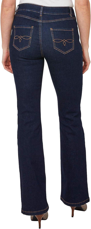 Joe Browns Womens Classic Denim Boot Cut Jeans Blue