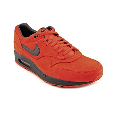 best website 3ff00 9e3a9 NIKE Air Max 1 Premium Mens Running Shoes 512033-610 Pimento 9.5 M US