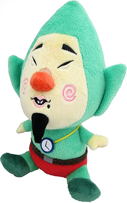 Amazoncom Little Buddy Legend Of Zelda Wind Waker Tingle 8 Plush