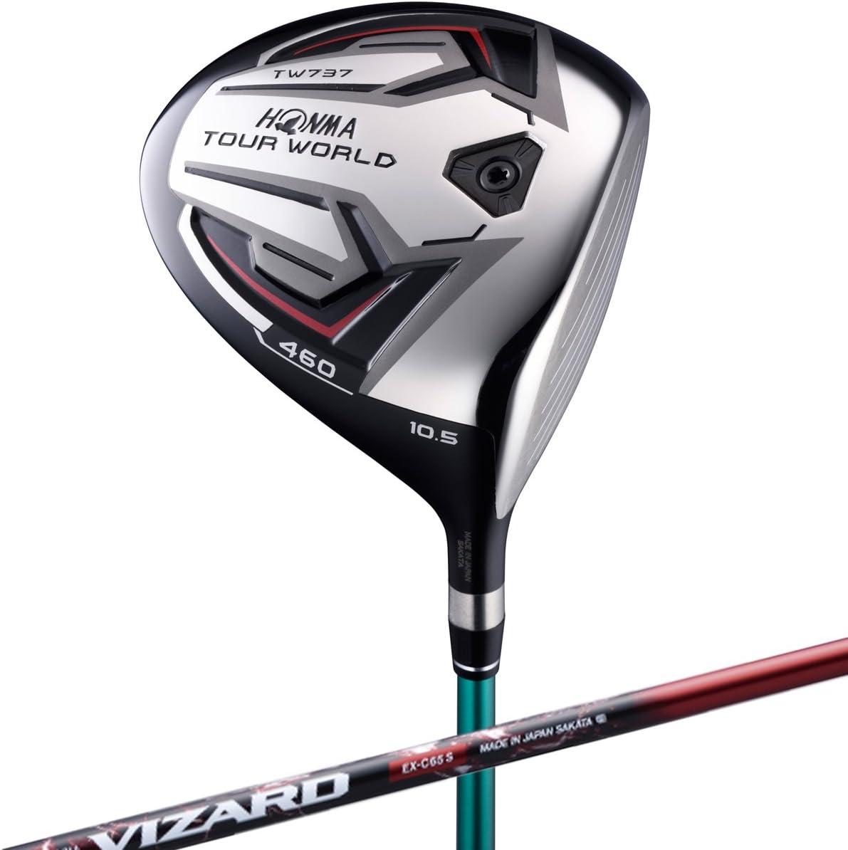 本間ゴルフ ドライバー TOUR WORLD ツアーワールド TW737 460 ドライバー 9.5度 VIZARD EX-C 65シャフト フレックス:S TW737-460 右 ロフト角:9.5度 番手:1W