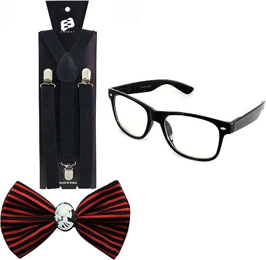 Steve Urkel Matte Black Glasses Costume Eyeglasses Nerd Family Matters Nerdy Big