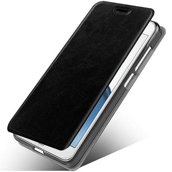 super popular 310e3 6af4a LG G7 ThinQ Case, LG G7 Case, MAIKEZI Slim Folio / Flip Pu Leather With  Stand TPU Bumper Back Phone Case Cover For LG G7 2018 (Black Leather Case Z)