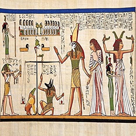 Amazon.com: Laeacco 8x8ft Photography Background Egyptian Mural Wall ...