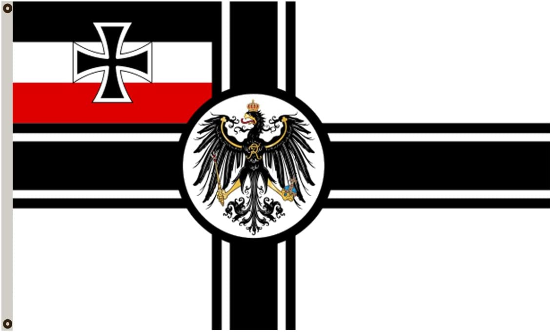 FYOn EX Guerra Banner bandera de guerra del imperio alemán (1903 ¨ C19) bandera: Amazon.es: Jardín