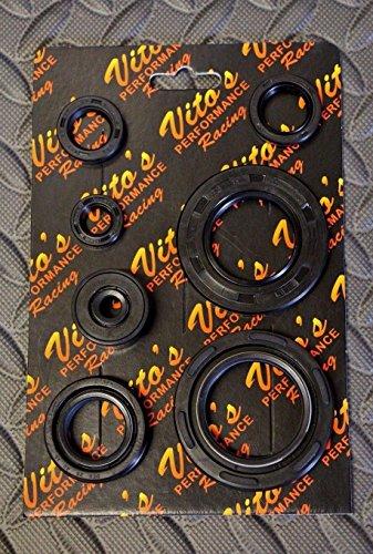 Oil Seal Kit Set (Vito's Performance COMPLETE SEAL KIT Yamaha Banshee engine motor oil set crank)