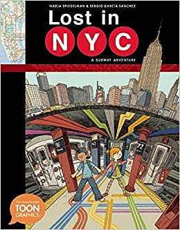 New York City Subway Map 191.Lost In Nyc A Subway Adventure A Toon Graphic Toon Graphics