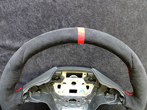 Amazon.com: RedlineGoods Ford Focus Mk3 2011-16 cubierta del volante ST de: Automotive