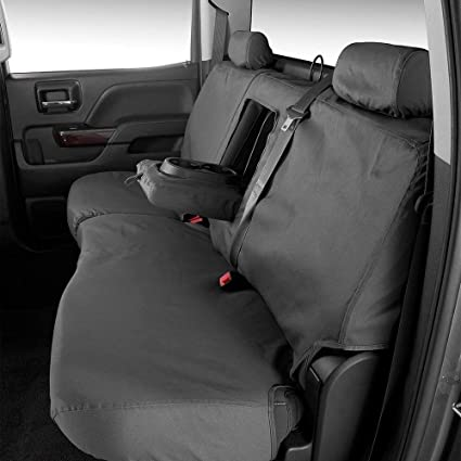 Strange Amazon Com Covercraft 2Nd Row Black Charcoal Rear Seat Uwap Interior Chair Design Uwaporg