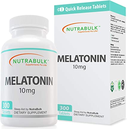 Amazon.com: NutraBulk Melatonina – Vitamina – Suplemento ...