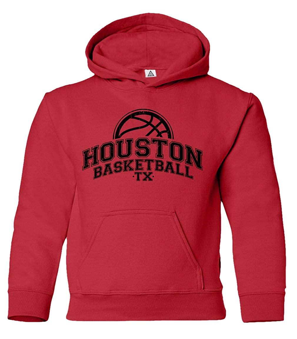 Sheki Apparel Basketball Fans Home Town Pride Little Kids Pullover Hoodie Toddler Sweatshirt