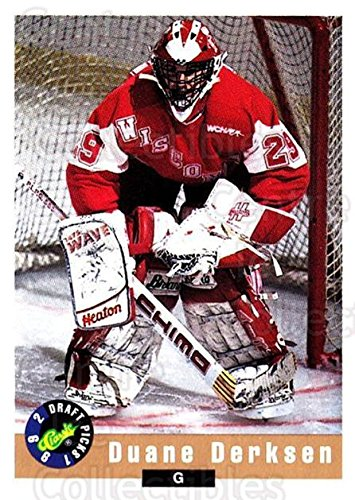 (CI) Duane Derksen Hockey Card 1992 Classic Hockey Draft (base) 91 Duane Derksen ()