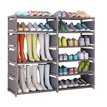 Udear Schuhschrank Schuhregal Storage Shoe Rack Tragbar Schuhe Regal