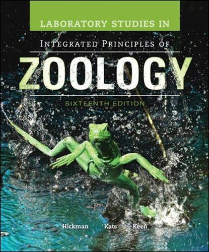 Integ.Prin.Of Zoology Lab.Studies