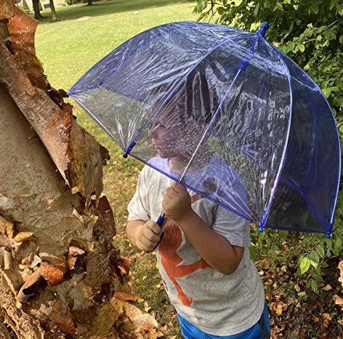 totes Kids Clear Bubble Umbrella, Blue