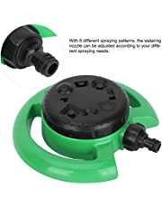 Jeffergrill Adjustable 8 Function Nozzle Lawn Grass Water Sprinkler Garden Irrigation Watering Tool Lawn Irrigation System