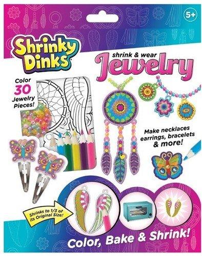 Dot Jewelry (Shrinky Dinks Jewelry)