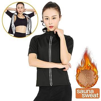 Erica Mujer Hot Termo Camiseta Adelgazar Body Shaper Rutina de ...