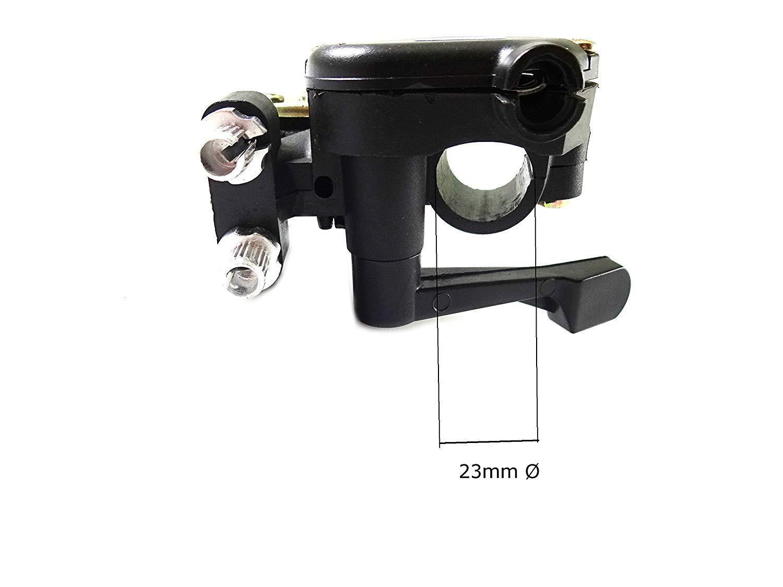 Hmparts Pollice-Accelleratore Regolabile per Quad Bambini con Induttore 3in1