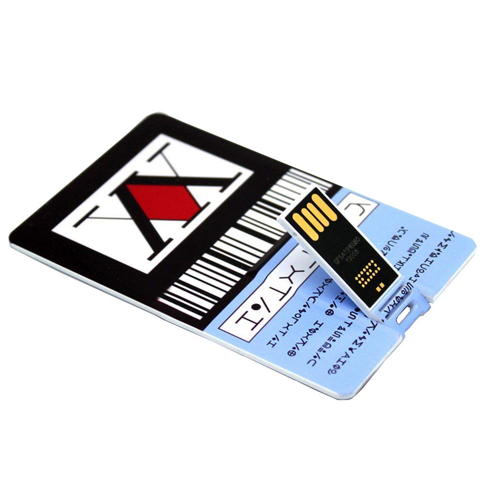 GING Kurapika Killua Hunter x Hunter License Card Anime USB Drive