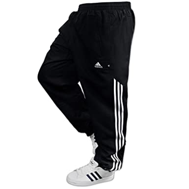 c9f5a446fff8 adidas AD Woven Sting Mens Jogging Pant Tracksuit Bottoms Track Pants  Cuffed (L