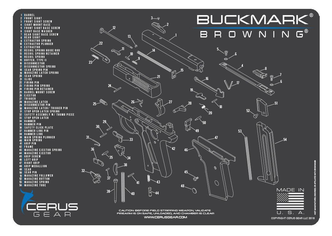 Cerus Gear Browning Buckmark Schematic Promat Charcoal Pin By Electronic Products Magazine On Circuit Diagrams Pinterest Gray Blue Sports Outdoors