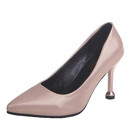 4c2b3935ce2d0 Amazon.com: YEZIJIN Clearance! Women's Ladies Fashion Solid Pointed ...