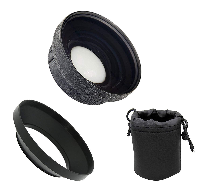 Canon VIXIA HF G60 HD (High Grade) Ultra Wide Angle Conversion Lens (Low Profile)